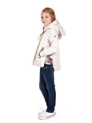 Куртки ШАЛУНЫ. Цвет: светло-бежевый