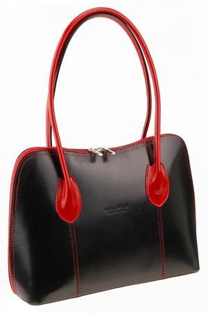 Сумка MATILDA ITALY. Цвет: black and red