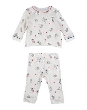 Пижама GRIGIO PERLA. Цвет: белый