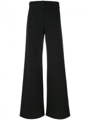 Классические брюки палаццо Philosophy Di Lorenzo Serafini. Цвет: чёрный