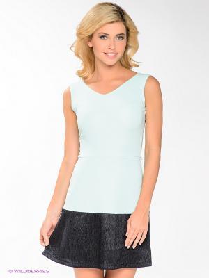 Платье Lussotico. Цвет: бирюзовый, темно-синий