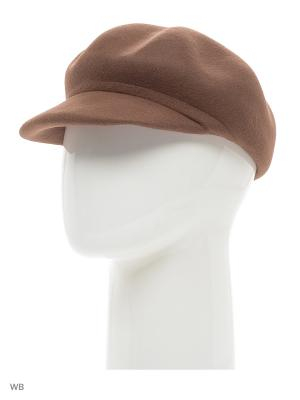 Кепка Mascotte. Цвет: коричневый