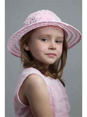 Шляпа NELL. Цвет: бледно-розовый