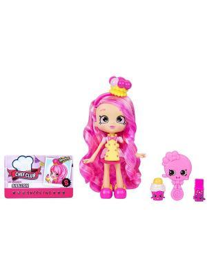 Кукла Shoppies  Кулинарный клуб Bubbleisha Moose. Цвет: розовый