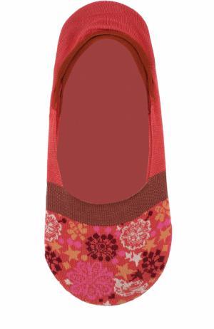 Хлопковые носки с принтом Antipast. Цвет: красный