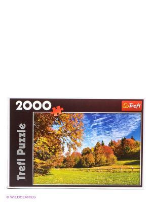 Горы Пенины 2000 деталей Trefl. Цвет: синий, зеленый, коричневый, голубой, оранжевый, желтый
