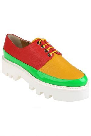 Ботинки Walter Steiger. Цвет: желтый