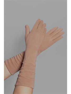Перчатки Sophie Ramage. Цвет: розовый