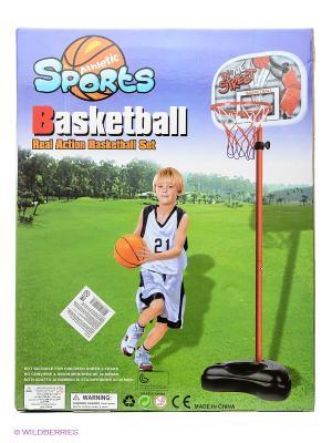 Стойка для игры в баскетбол VELD-CO. Цвет: оранжевый