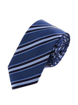 Галстук Pierre Lauren. Цвет: голубой, синий