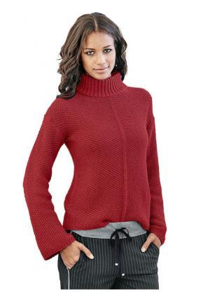 Пуловер B.C. BEST CONNECTIONS by Heine. Цвет: красный