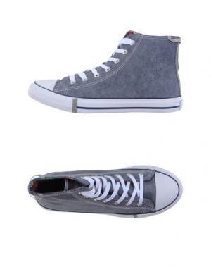 Высокие кеды и кроссовки AUSTRALIAN. Цвет: синий