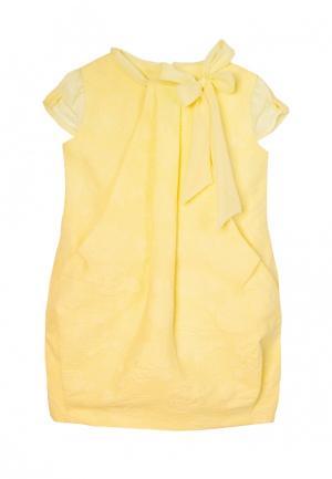 Платье AnyKids. Цвет: желтый