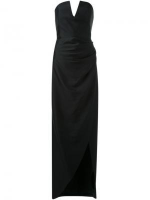 Платье Phantasm Bianca Spender. Цвет: чёрный