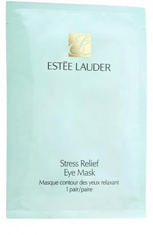 Маска для кожи вокруг глаз Stress Relief Eye Mask Estée Lauder. Цвет: бесцветный