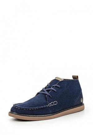 Ботинки Volcom. Цвет: синий