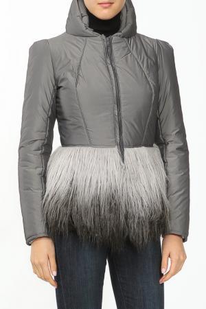 Куртка French Fries. Цвет: серый