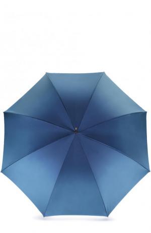 Зонт-трость Pasotti Ombrelli. Цвет: синий