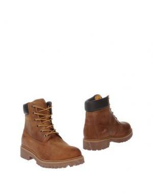 Полусапоги и высокие ботинки WEST COAST. Цвет: коричневый