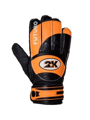 Перчатки вратарские Futuro 2K. Цвет: черный, оранжевый