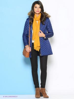 Пальто Ada Gatti. Цвет: темно-синий