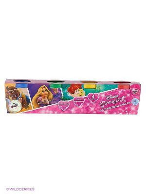 Пальчиковые краски Multi Art принцессы disney. 4 цвета Multiart. Цвет: розовый