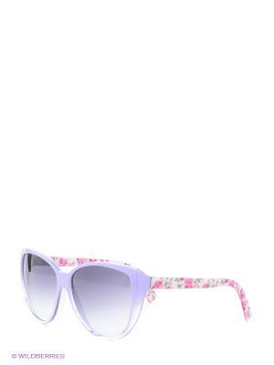 Солнцезащитные очки Franco Sordelli. Цвет: сиреневый, розовый