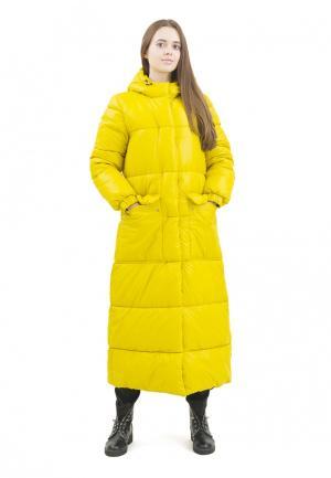 Куртка утепленная Doctor E. Цвет: желтый