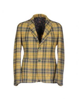 Пиджак HARRY & SONS. Цвет: желтый
