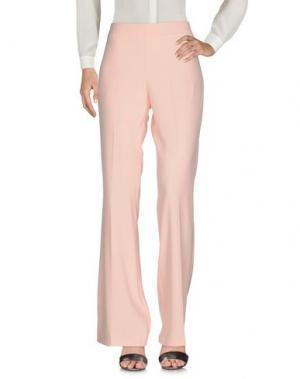 Повседневные брюки LAFTY LIE. Цвет: абрикосовый
