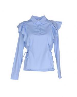 Блузка SOUVENIR. Цвет: небесно-голубой