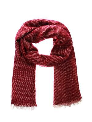 Палантин Migura. Цвет: бордовый, серый