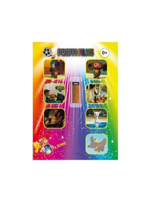 Usb флэш-накопитель со сборником мультфильмов № 20 PROFFI. Цвет: золотистый