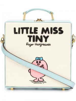 Сумка-тоут Little Miss Tiny Olympia Le-Tan. Цвет: синий