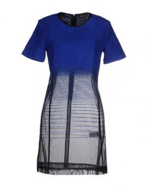 Короткое платье OSTWALD HELGASON. Цвет: синий