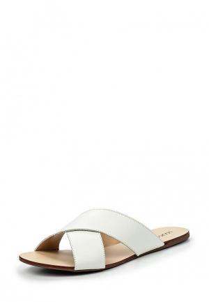 Шлепанцы Loucos & Santos. Цвет: белый