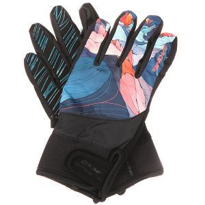 Перчатки сноубордические женские  Electra Glove Daybreak Dakine. Цвет: мультиколор,черный
