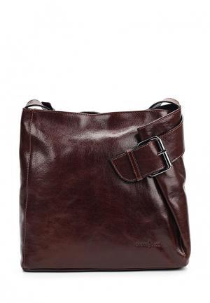 Сумка Gianni Conti. Цвет: коричневый