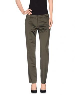 Повседневные брюки TRĒS CHIC S.A.R.T.O.R.I.A.L. Цвет: зеленый-милитари