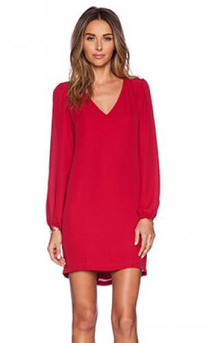 Платье Eight Sixty. Цвет: красный