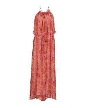 Длинное платье BELAIR. Цвет: пастельно-розовый