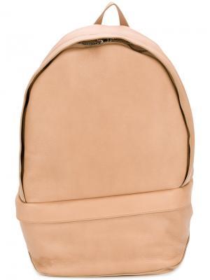 Рюкзак со шнуровкой на лямках Wooyoungmi. Цвет: телесный