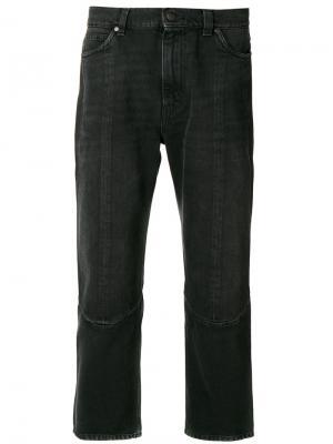 Широкие джинсы Stella McCartney. Цвет: чёрный