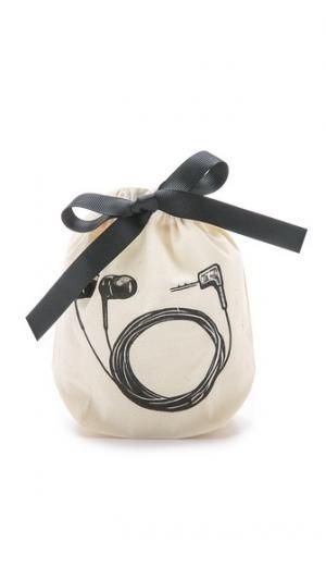 Маленькая сумка-органайзер с изображением наушников-вкладышей Bag-all
