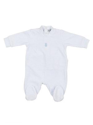 Комбинезон детский MANAI. Цвет: голубой, белый
