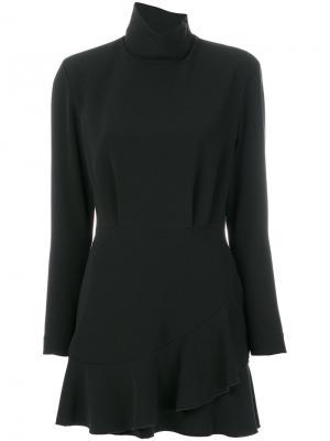 Расклешенное платье Dondup. Цвет: чёрный