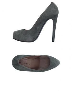 Туфли GAIA D'ESTE. Цвет: серый
