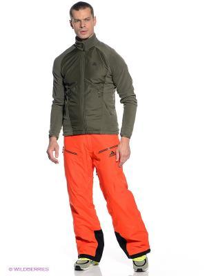 Брюки COLDFUSION P Adidas. Цвет: оранжевый