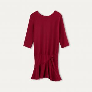 Платье ISLA BA&SH. Цвет: бордовый,темно-синий