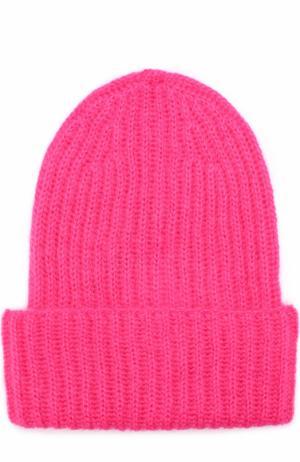 Вязаная шапка Tak.Ori. Цвет: фуксия